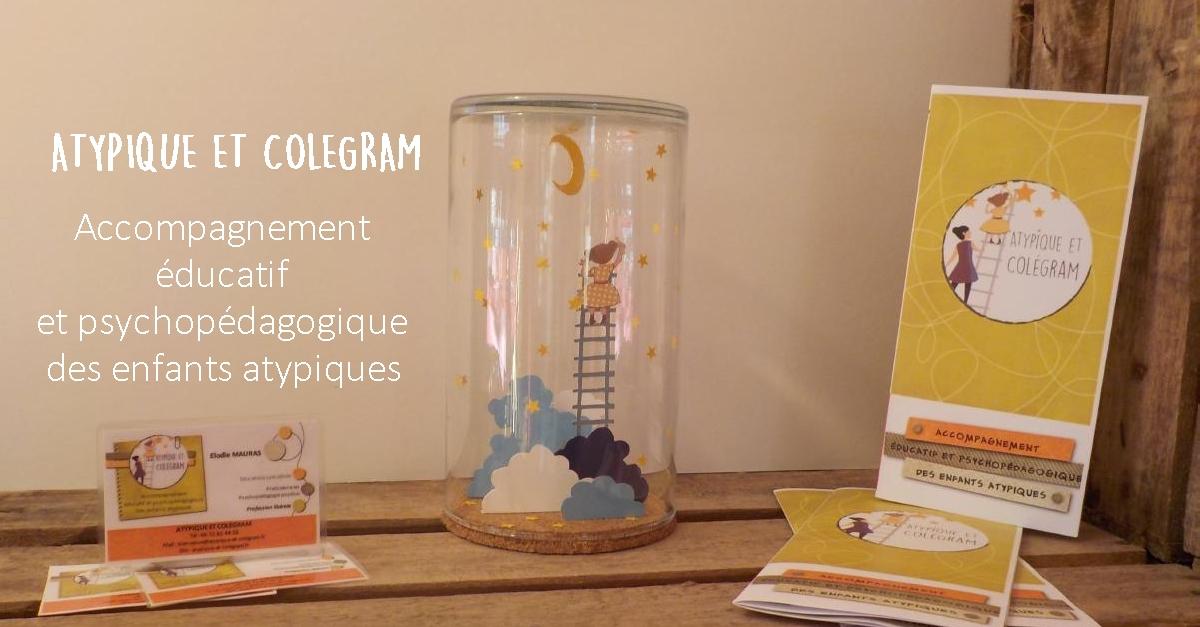 Atypique et colégram - Elodie Mauras